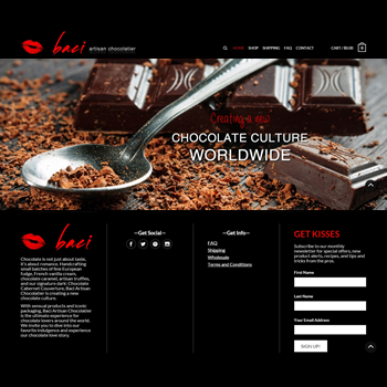 Baci Website