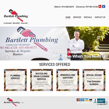 Bartlett Website